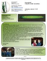 Nieuwsbrief nr.2 Januari 2014