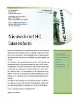 Nieuwsbrief nr.8 November 2015