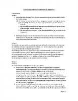 1 Huishoudelijk reglement hengelaarsclub Sassenhein